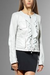 Patrizia Pepe Leather Jacket - Lyst