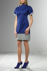 Patrizia Pepe Short Dress - Lyst