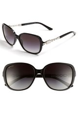 Bvlgari Crystal Chain Temple Sunglasses - Lyst