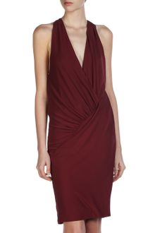 Haute Hippie Asymmetric Drape Dress - Lyst