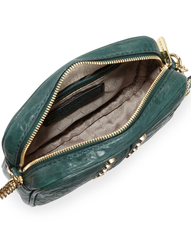 10034c01eb1f Lyst - Michael Kors Uptown Astor Crossbody Bag in Green