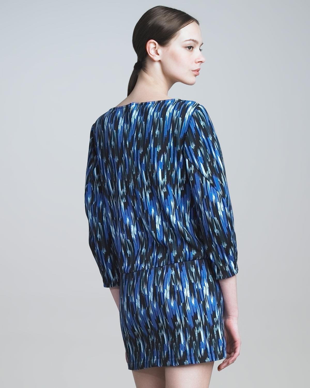 Thakoon addition ikat dress plus