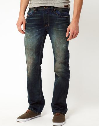 Diesel Jeans Larkee Regular Fit Laundry Wash - Lyst