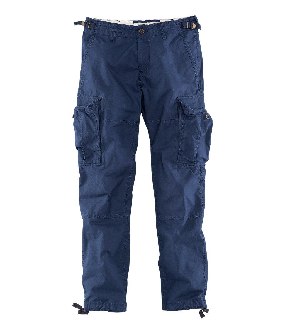 Cool Hu0026m Cargo Pants In Black For Men | Lyst