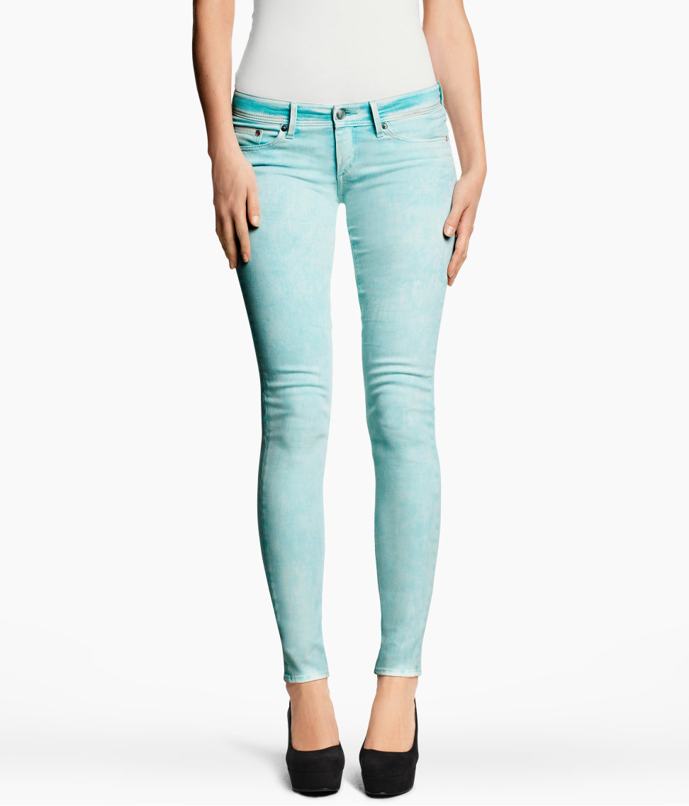 Jeans super skinny low