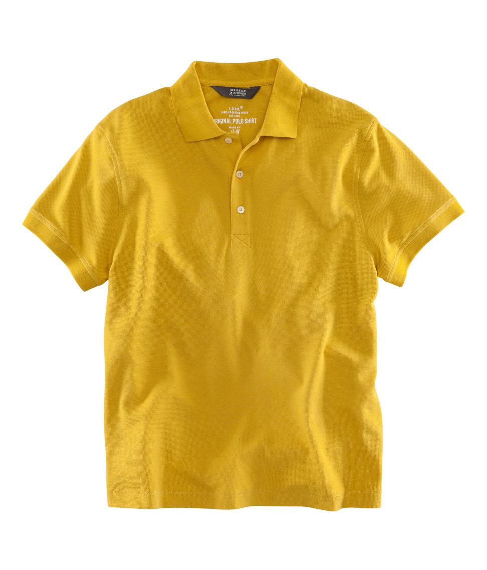 H m polo shirt in yellow for men lyst for H m polo shirt womens
