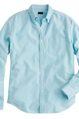 J.Crew Stonewashed Oxford Shirt - Lyst