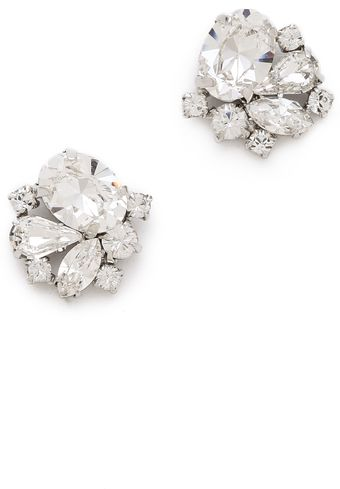 Jenny Packham Tesoro Earrings I - Lyst