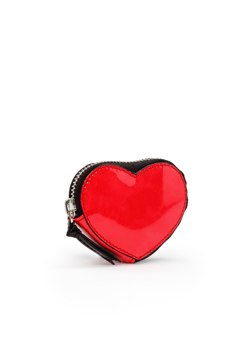 Lyst Mango Heart Shaped Coin Purse In Red