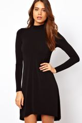 ASOS Collection Asos Shift Dress with High Low Hem - Lyst