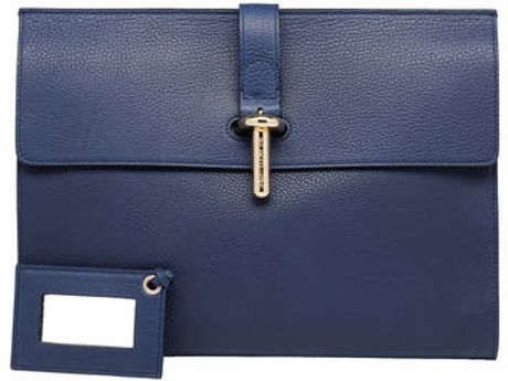 Balenciaga Balenciaga Tube Clutch L Old Rose in Blue (baltique)