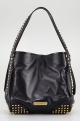 Burberry Small Studded Tote Bag Black - Lyst