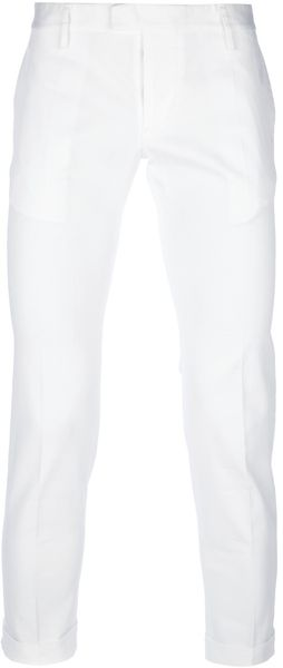 DSquared2 Cropped Trouser - Lyst