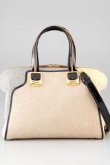 Fendi Chameleon Medium Fabric Satchel Bag - Lyst
