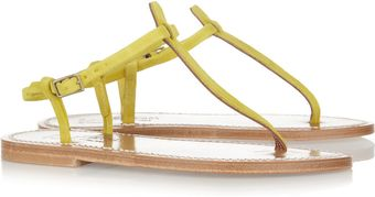 K Jacques St Tropez Buffon Nubuck Leather Sandals - Lyst