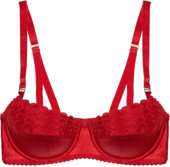 Stella McCartney Sam Partying Silkblend Balconette Bra - Lyst