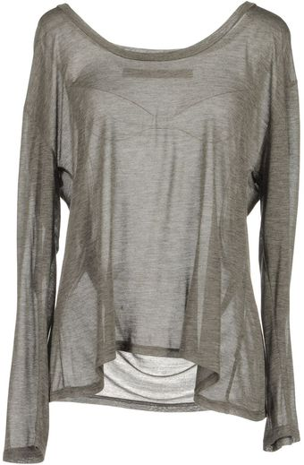 Enza Costa Long Sleeve Tshirt - Lyst
