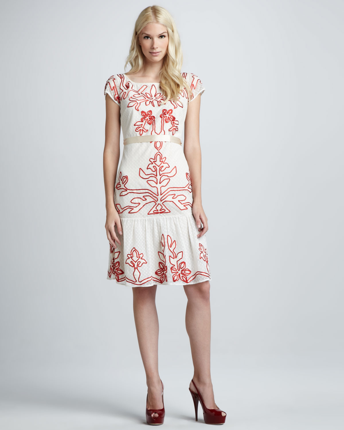 Alice by Temperley White Dress
