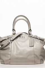 Coach Madison Leather Sophia Satchel - Lyst