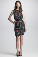 McQ by Alexander McQueen Printed Knothem Dress - Lyst
