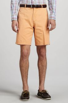 Peter Millar Winston Washed Twill Shorts - Lyst