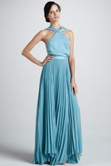 Sachin & Babi Antalya Halter Maxi Dress - Lyst