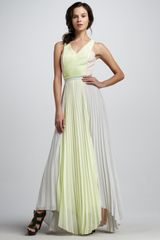 Sachin & Babi Marina Pleated Sleeveless Maxi Dress - Lyst