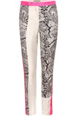 By Malene Birger Folippa Silk Trousers - Lyst
