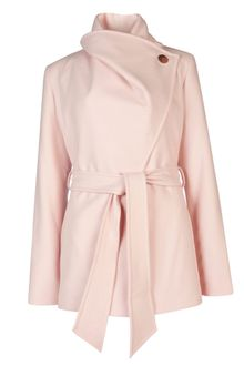 Ted Baker Matild Short Wrap Coat - Lyst
