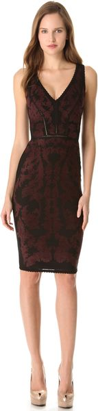 Zac Posen Bondage Jacquard Dress - Lyst