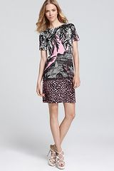 Diane Von Furstenberg Sweater Dress Kivel Printed - Lyst