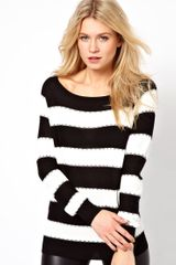 Oasis Stitch Stripe Jumper - Lyst