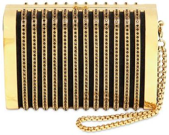 Stark Crystal Clutch - Lyst