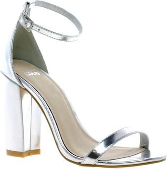 Asos Hometown Heeled Sandals - Lyst