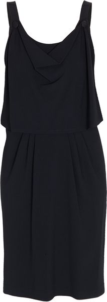 Boy by Band Of Outsiders Cowl Neck Crepe Dress - Lyst