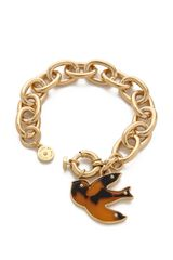 Marc By Marc Jacobs Petal To The Metal Charm Bracelet - Lyst