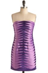 ModCloth Gonna Be A Grape Night Dress - Lyst