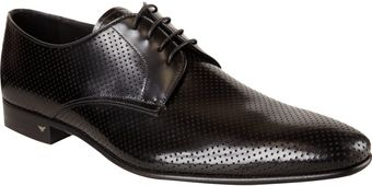 Prada Perforated Plain Toe Blucher - Lyst