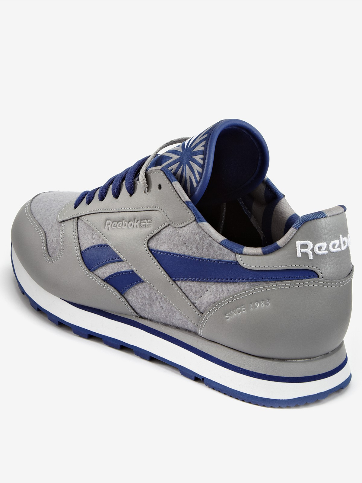 men reebok classic nylon running