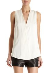 T By Alexander Wang Habotai Top - Lyst