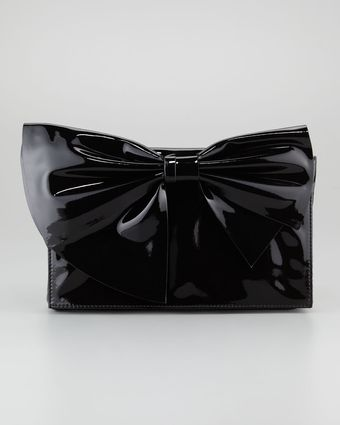 Valentino Lacca Bow Clutch Bag - Lyst