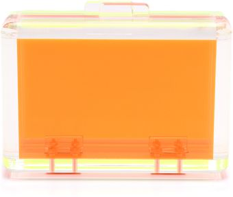 CC Skye Bright Love Lucite Clutch - Lyst