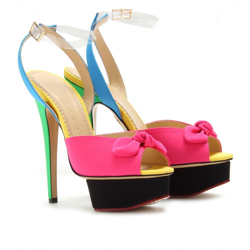 discount fake Charlotte Olympia Serena Platform Sandals wholesale price kTBOt4FU