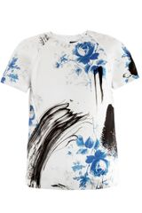 Christopher Kane Dutch-Print Blouse - Lyst