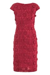 Giambattista Valli Couture Floralembroidered Silk Dress - Lyst