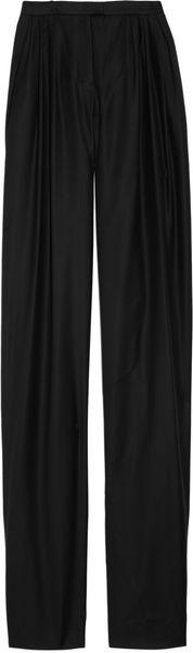 Jil Sander Highwaisted Wooltwill Wideleg Pants - Lyst