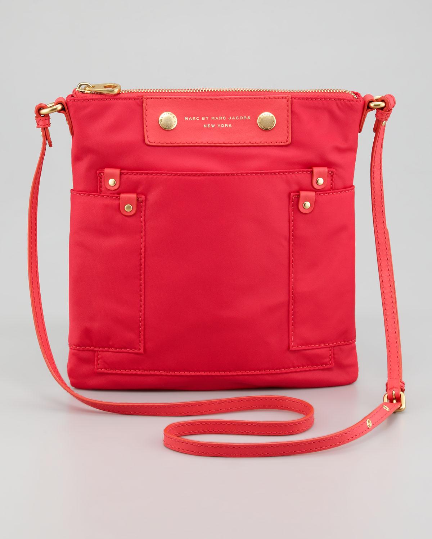 584c3630b83e Lyst - Marc By Marc Jacobs Preppy Nylon Sia Crossbody Bag in Red