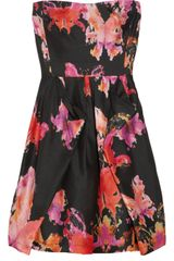 See By Chloé Printed Silkshantung Dress - Lyst