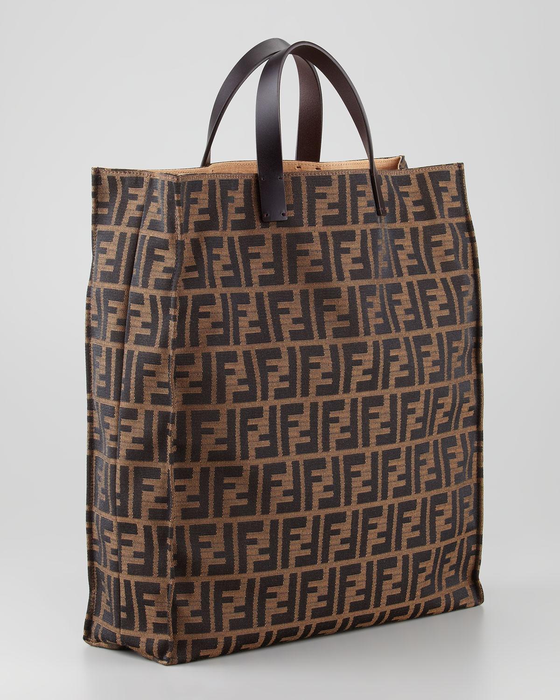 92bc6a4b072 ... shopping fendi zucca always shopper tote bag tobaccobrown in brown lyst  306b5 6116a