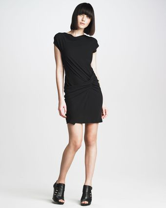 See By Chloé Ruchedwaist Silk Dress - Lyst